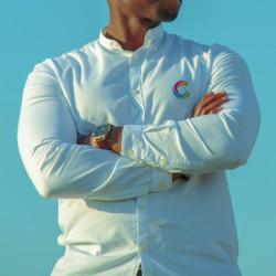 chemise, textile, broderie
