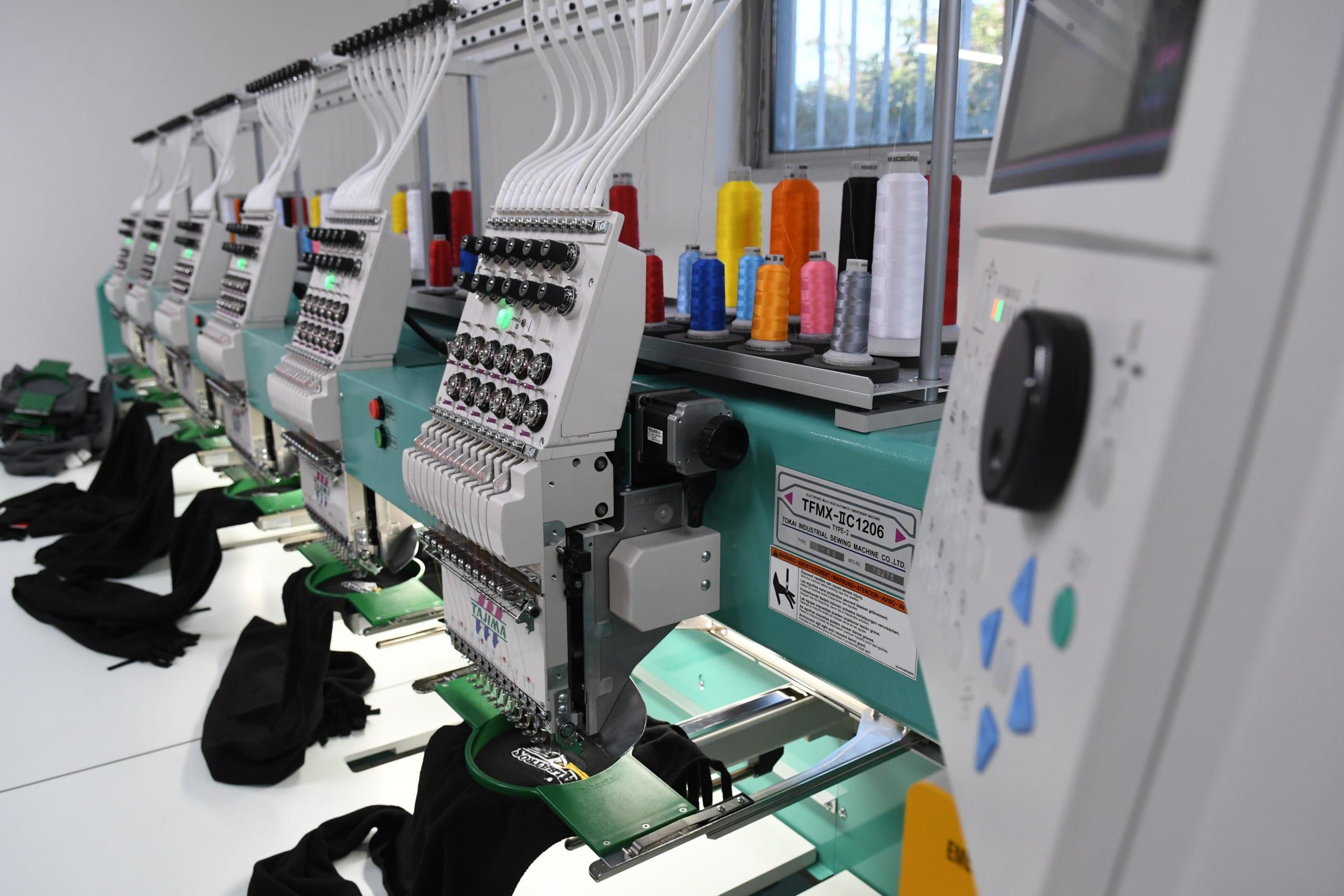 machine a broder, Tajima