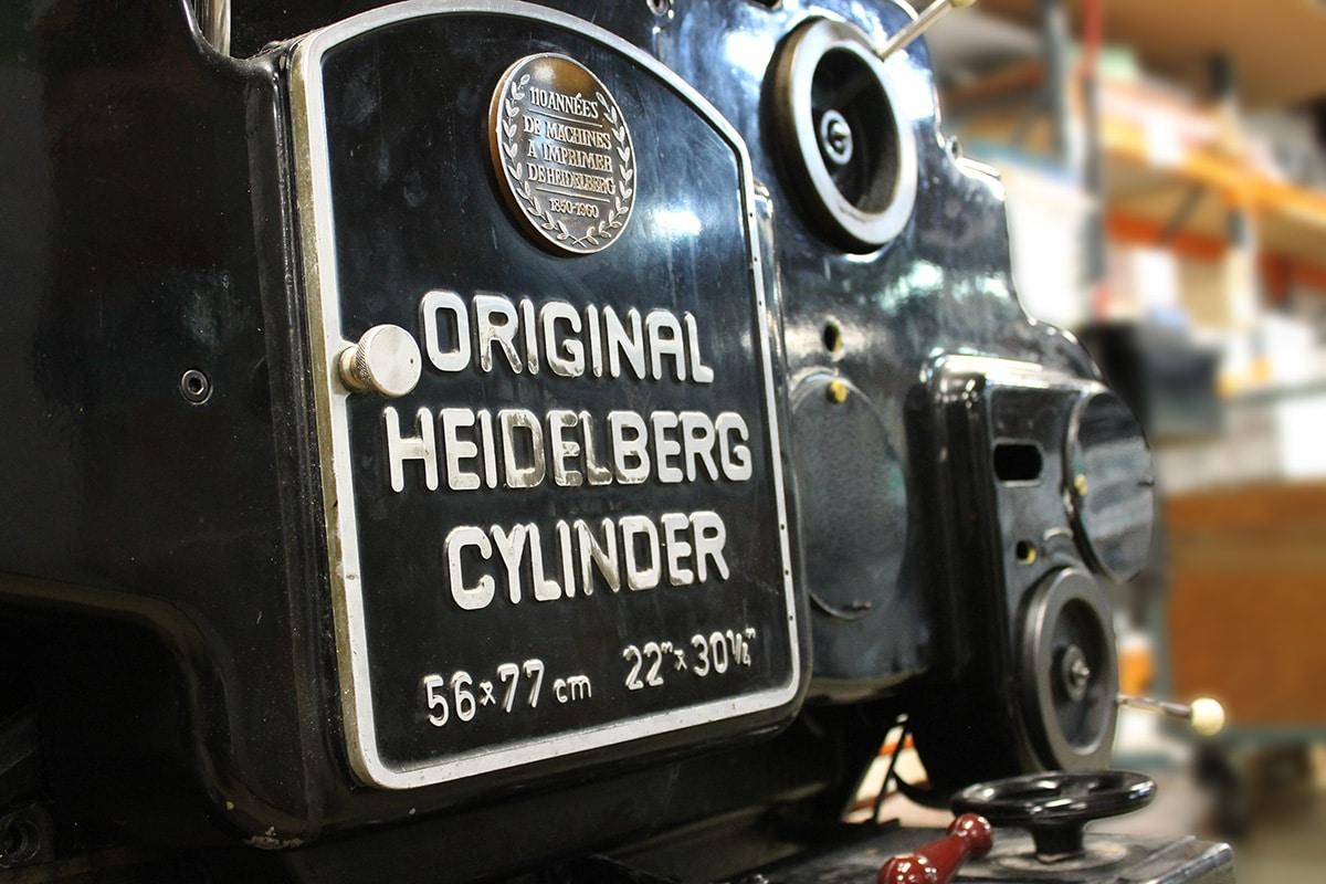 heidelberg, imprimerie