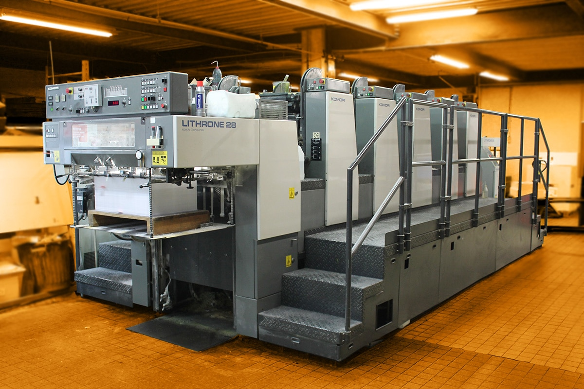 imprimerie, machine offset